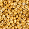 Seedbead Opaque Speckled Brown 2/0